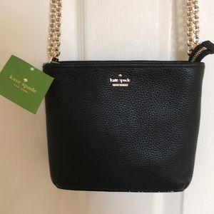 NWT Kate Spade Jackson Street Leather handbag $178